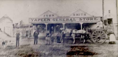 Historic Yapeen Store