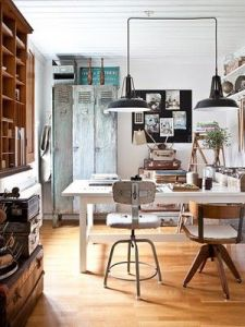 Click the image to check our collection of ideas for home office, studio decoration.