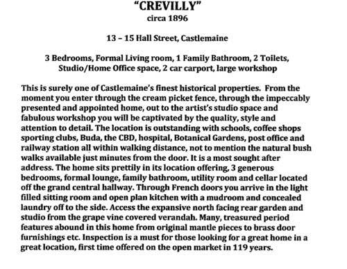 crevilly